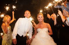 Beautiful sparkler Fanfare. Venue ~ Park Tavern.  Photo Courtesy of Frank Gibson.