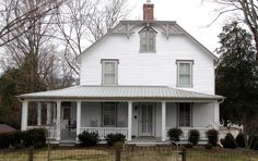 Marcus Warren House in Blount County, Tennessee.