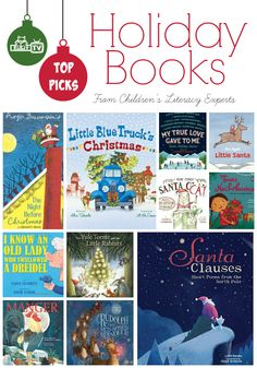 Top Holiday Books for 2014 featured at KidLitTV Holiday Special.  A special treat to hear the inside scoop from Children's Literacy experts on their top picks!
