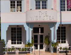 Miami Beach: The Webster Hotel on Ocean Drive, South Beach (Miami Beach, Florida) Hotels in Ocean Drive!
