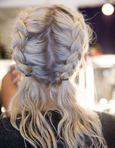 Braids are an easy and so pleasant way to forget about hair styling for months, give your hair some Messy Hairstyles, Pretty Hairstyles, Summer Hairstyles, Hairstyle Ideas, Hairstyles 2018, Festival Hairstyles, Wedding Hairstyles, Softball Hairstyles, Athletic Hairstyles
