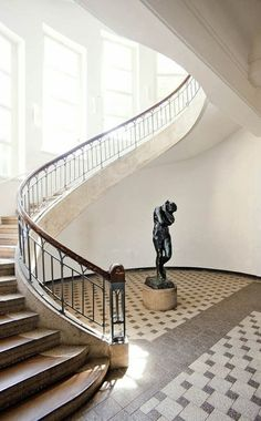 Bauhaus University, Weimar / Henry van de Velde, first director of the Bauhaus, forced to resign because he was a Belgium.