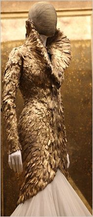 What Would Khaleesi Wear?Feathery-scales from McQueen