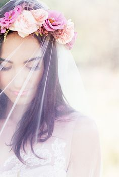 Beautiful Natural Bridal Inspiration | Reverie Supply Photography | Bridal Musings Wedding Blog 14