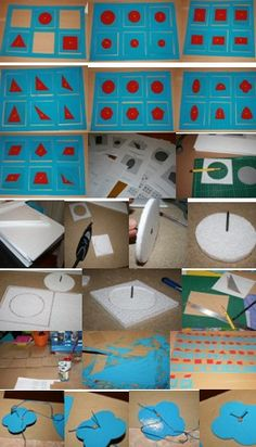 Tutorial DIY Montessori: costruire il cofanetto delle figure geometriche
