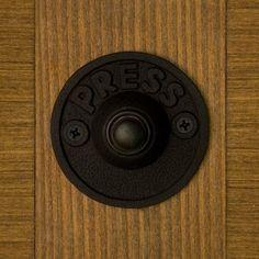 $20? Yes, please. Introducing our doorbell. Harvey Round Iron Doorbell