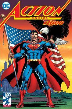 Action Comics Complete Cover Checklist comicburst covers comic covers comics 1000 variant covers covers of … Superman Artwork, Superman Comic, Batman, Dc Comic Books, Comic Book Covers, Action Comics 1000, Dc Rebirth, Superman Man Of Steel, Dc Comics Art