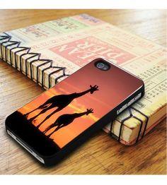Giraffe In Sunset iPhone 5|iPhone 5S Case