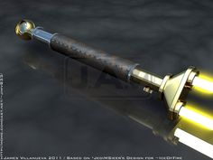 IceOfFire's Twin Blade Saber by JamesVillanueva on @DeviantArt