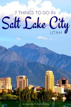 Whether you're planning a date night, looking for a place to relax, or want to go on an adventure, Salt Lake City has it all. If you're moving there or planning on visiting, make sure you don't miss out on these awesome attractions!