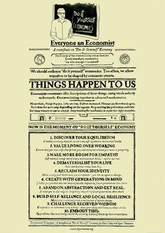 Everyone's an Economist...