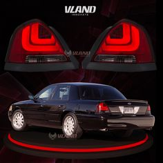 VLAND  car accessories for VICTORIA 2006 LED Tail Lamp Crown Victoria LED Tail lights   #vland #fordvictoriataillight  #fordvictoriataillamp  #fordvictoriarearlight Motorcycle Accessories, Car Accessories, Panther Car, 2003 Ford Mustang, Mercury Marauder, Victoria Police, Ford Parts, Led Tail Lights, Crown