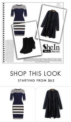 """""""SheIn 2/X"""" by nermina-okanovic ❤ liked on Polyvore featuring Whiteley and shein"""