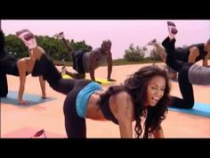 Mel B - 10-minutes bum training - love it!