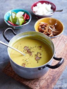 Fernweh? Kein Problem: Mit unserem feinen Currysüppchen holst du dir ein Stückchen Asien nach Hause auf den Teller