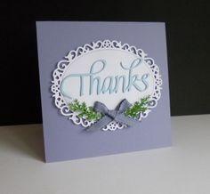 CC620 Guest Designer sample- Sandie's card