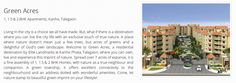 Flats in Talegaon by Elite Landmarks. Elite Green Acres presents 1, 1.5 and 2 BHK apartments in Kanhe, Talegaon.