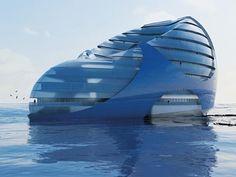 シースクレイパー、未来の水上都市