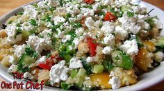 The One Pot Chef Show: Easy Quinoa Salad - RECIPE