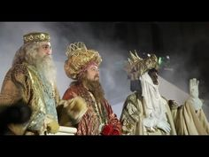 Three kings parade of Madrid in Spain