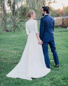 A Charmingly Bespoke Fall Wedding in New Jersey | Martha Stewart Weddings