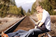 engagement photos on train tracks - Google Search