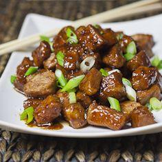 Braised Pork in Sweet Soy Sauce. Braised Pork in Sweet Soy Sauce World Recipes, Wine Recipes, Asian Recipes, Cooking Recipes, Veal Recipes, Cooking Stuff, Pork Dishes, Tasty Dishes, Bacon