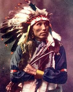 James Lone Elk, nephew of Old American Horse. Oglala Lakota. Early 1900s. Colorado. Photo by Heyn Photo. Read more at https://indiancountrytodaymedianetwork.com/gallery/photo/20-remarkable-hand-colored-portraits-american-indians-15749820 Remarkable Hand-Colored Portraits of American Indians - ICTMN.com