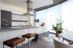 La cucina Adele Project di Cucine Lube si articola in un blocco di ...