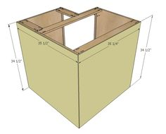 Kitchen Cabinets Building Plans kitchen cabinet diy plans - google search | kitchen | pinterest