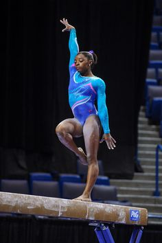 Simone Biles--2013 Nationals Night 1 (senior)  Absolutely amazing to be there.  Cannot wait for August 2014 :-)