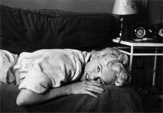 Marilyn Monroe in black & white