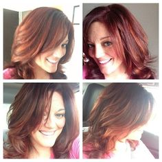Red/Auburn Hair and Highlights for Fall 2013- Fix Salon in Charleston, SC
