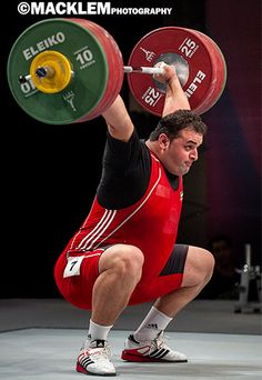 Stars of Olympic Weightlifting, photography of World's best Olympic weightlifters