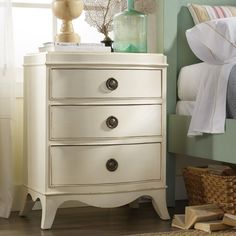 potential nightstands Somerset Bay Melbourne Bedside Chest @Layla Grayce