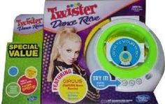 Twister Dance Rave Value Pack Hasbro Dance to Your Own Music Connect to Any MP3 #Hasbro #twisterdancerave #specialvalue