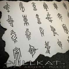 Repost of the embellished elder futhark runes I did a while ago :) Pagan Tattoo, Norse Tattoo, Viking Tattoos, Viking Rune Tattoo, Wiccan Tattoos, Inca Tattoo, Rune Symbols, Magic Symbols, Viking Art