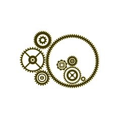 Free gear stencil - great as a steampunk stencil, or adapt to other needs, in a printable pdf.