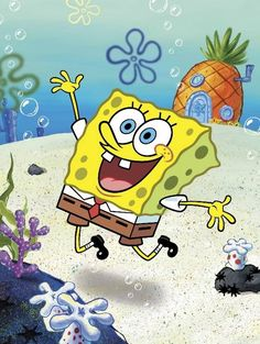 The USA's most-loved TV series - Spongebob Squarepants
