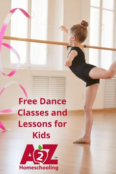 Need to get the kids moving? How about some free dance lessons! We've compiled a list to help your kids discover their next moves. Learn more here. Free Dance Classes, Online Dance Classes, Dance Online, Dance Lessons For Kids, Online Dance Lessons, Physical Education Activities, Music Activities, Yoga For Kids, Exercise For Kids