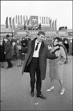 Stilyagi in Moscow 1967