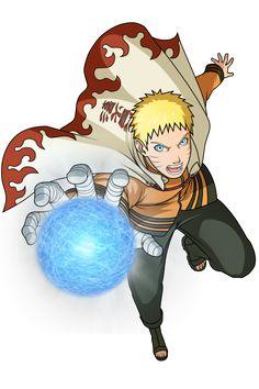 Naruto Uzumaki - Rasengan