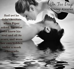 Teaser from In Too Deep (Due South Book 1) Meet West & Piper in 'Second Chances' box set! :)