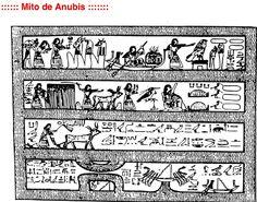 Esto es el según mito del dios anubis