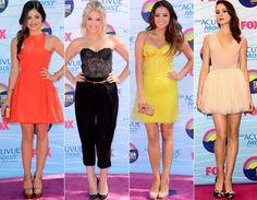 Teen Choice Awards 2012: veja os melhores looks das famosas! - Radar Fashion - CAPRICHO