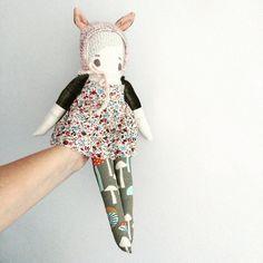 #puppadolls #bigcartel #handmade #handmadedoll #heirloomdoll #mushroom #mushroomlove #clothdoll #dollmaker