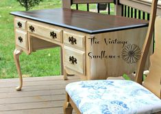 Imagine starting your weekend with an outdated desk & ending with this!