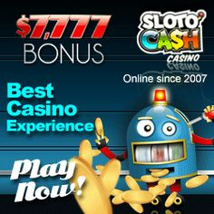 $5 No deposit bonus and $5555 in reload bonuses at New Slotocash casino - redeem 5 bonus codes and get another $50 Freechip  - this offer valid till July 1st only!