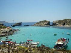 Blue laggon. Comino. Malta