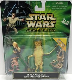 (TAS033578) - 2001 Hasbro Star Wars Power Of The Jedi Action Figure Amanaman